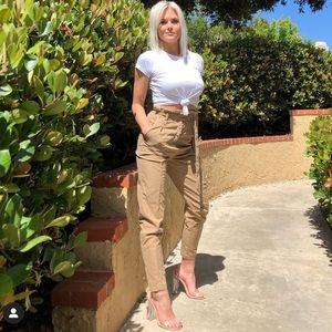 Cape Robbin clear heels
